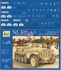 Peddinghaus 1/48 Sd.Kfz.10 Demag Typ D7 DAK WWII Markings (Blue Cat 4802) 2524