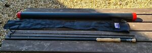 A FINE GREYS GRX 10FT #6/7 TROUT FLY ROD IN DAIWA BAG AND A TUBE