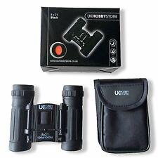 QUALITY COMPACT POCKET BINOCULARS 8x 21 BIRD WATCHING TRAVEL FESTIVAL ARENA SHOW