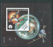 CHILE 1993 souvenir sheet Space satelite