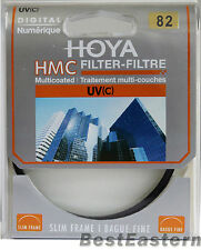 HOYA  82mm Slim HMC UV (C) Multi-Coated New lens Filter 82 mm