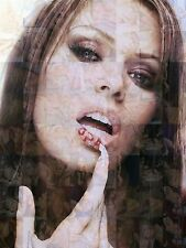 JENNA JAMESON photo mosaic cm. 30x41 poster with a lot of sexy pics