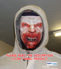 BLOODY MAN FACE DESIGN SCARY HALLOWEEN FULL FACE MASK HORROR ZOMBIE FANCY DRESS