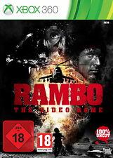 Rambo - The Video Game (Microsoft Xbox 360, 2014, DVD-Box)