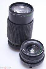 ✅ TOKINA RMC 28MM 2.8 & MAKINON 80-200MM 4.5 MC ZOOM LENSES FOR MINOLTA MD