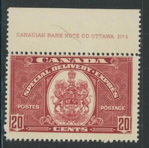 Canada 1938 20c Special Delivery Sc# E8 NH