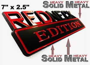 SOLID METAL Redneck Edition BEAUTIFUL EMBLEM International Harvester Truck Bus