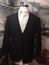 Hickey Freeman 42 R Barrett Suit Jacket Wool Black 2 Button Fully Lined