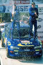 Kenneth Eriksson Subaru Impreza WRC 97 New Zealand Rally 1997 Photograph 5