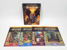 AD&D TSR 1ST ED. DRAGONLANCE SOURCEBOOK & MODULES MAPS 9130, 9131, 9132, 9139