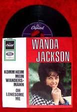 Single Wanda Jackson: Komm Heim mein Wandersmann / Oh Lonesome Me (Capitol) D