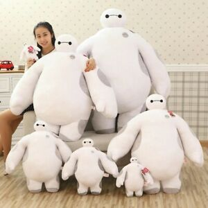 Large Cotton Big Hero 6 White Baymax Robot Stuffed/only Cover Plush Doll Toy