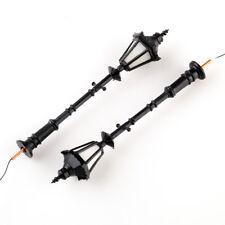 8pcs 1 25 Model Railway LED Lamppost Lamps Street Lgihts G Scale 3v