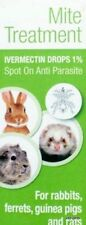 AntiParasite Spot on Rabbit Guinea Pig Ferrets Wormer Lice Fleas