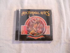 """Nocturnal Rites """"Tales of mistery and immagination"""" 1998 cd Century Media New"""