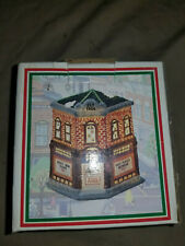 Hometown America Collection Porcelain Gem Drugs Village