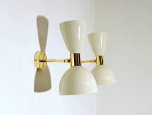 WALL LAMP Applique - OTTONE - WHITE Color - DEYROO Lighting Italy