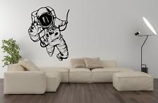 Astronaut Spaceman Cool NASA Vinyl Wall Art Sticker Decal Home Decor O72