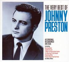 JOHNNY PRESTON - THE VERY BEST OF - 40 ORIGINAL RECORDINGS (NEW SEALED 2CD)