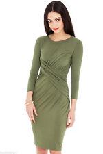 Jersey 3/4 Sleeve Stretch, Bodycon Everyday Women's Dresses