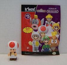Mario K'Nex Red Toad Minifigure Wii Nintendo Super Mario Bros Series 5