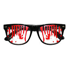 Halloween Sangre manchada Monster Zombie Vampiro Fancy Dress Gafas