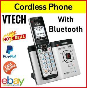 Cordless Home Telephone Portable BLUETOOTH Phone Landline Answering Machine