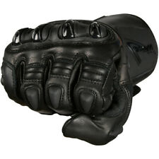 WEISE / KNOX VORTEX HARD KNUCKLE BLACK LEATHER RACE GLOVES SIZE XL RRP £99.99