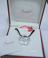 Baccarat 2103312 Lili Choker Clear Crystal Pendant Necklace Authentic MIB