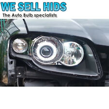 "x1 2.5"" Car Headlight Bi-Xenon HID Double CCFL Angel Eye Projector Lamp Len Kit"
