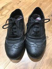 girls black shoes size 2