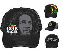 Bob Marley Trucker Hat - Brand New - Rasta Mesh Trucker Hats