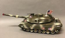 Working GI Joe Army Tank - 2001 Funrise Hasbro Battery operated Lights Sounds