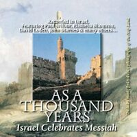 As a Thousand Years - CD - Jewish Israeli Music   various artists (see list)