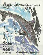 Timbre Poissons Requins Madagascar BF87 ** lot 26904