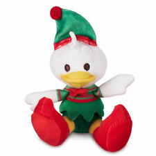 "Disney Store Donald Duck Holiday Tiny Big Feet Small Micro Plush Doll 4 1/2"" H"