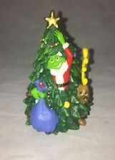 """Dr Seuss Collection 2000 Resin Figure The Grinch Merry Grinchmas 4"""""""