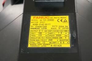 Fanuc Servo Motor A06B-0142-B177 in Condition Used