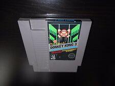 Donkey Kong 3 III Nintendo NES Game Cartridge The Original