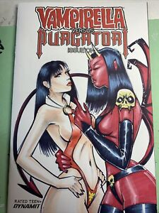 Vampirella Vs Purgatori 1 Original Sketch Cover Variant