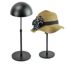 Black Metal Adjustable Hat Display Stand Holder Rack General MJ-68