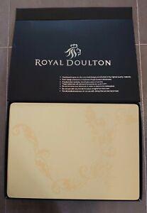 Royal Doulton Table Ware 6 Place Setting Mats And Coasters