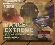 Korg Triton  EXB-PCM04 Dance Extreme Expansion