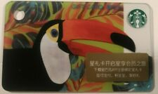 Starbucks coffee Toucan mini Gift card, China Series 7310                  (L)