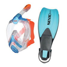 Seac Set Full Face Snorkeling Mask Unica and Sprint Fins