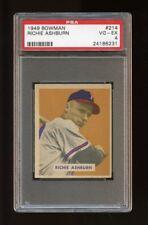 1949 Bowman Set Break #214 Richie Ashburn RC PSA 4 VG-EX
