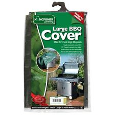 LARGE HEAVY DUTY BBQ COVER WITH TIE CORD APPROX H115 x L170 x W70cm  COV121