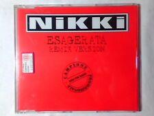NIKKI Esagerata remix cd singolo PR0M0 RARISSIMO