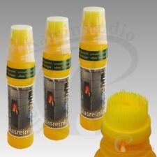 3 Flaschen Wodtke Spezialreiniger Glasreiniger Scheibenreiniger für Kamine+Öfen