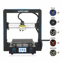 "DE stocks Anycubic I3 Mega-S Upgrade 3D Printer 3.5""TFT With PLA 210x210x205mm"